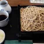 川越 藪蕎麦 - せいろうそば¥660  大盛り¥230