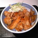 吉野家 - 豚丼並盛380円