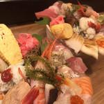 神東寿司 - ボリュームすごすぎる