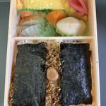 福豆屋 - 料理写真:海苔のりべん(980円) 2019.6