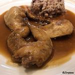びすとろぽたじぇ - 料理写真:鶉のロースト サルミソース