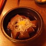 えくぼ家 - マグロほほ肉と大根の旨煮