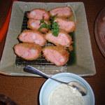 えくぼ家 - 海老の魚ロッケ。衣サックサク~