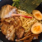 龍が如し - 龍如あつもり(950円)の麺