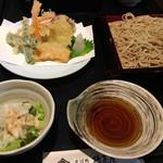 椿茶屋 - 料理写真:野菜天せいろそば
