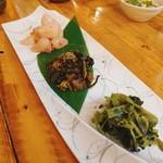 日本酒バル 蔵よし - 珍味3種