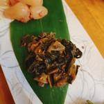 日本酒バル 蔵よし - からし高菜漬け