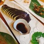 日本酒バル 蔵よし - 水ナスの刺身