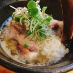 日本酒バル 蔵よし - 海鮮ゴマダレ茶漬け