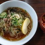 もりしげ - 冷麺と辛味  お代