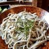 彩桂庵 - 料理写真:太さにバラツキがありますが手打ち証拠ですね