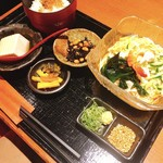 やまと庵 - 料理写真:ぶっかけ三輪素麺セット