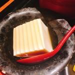 やまと庵 - 豆腐の生姜あんかけ。冷たくて食べやすいです!