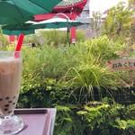 ガーデンテラスカフェ - ◆タピオカアイスミルクティー 540円(税込み)