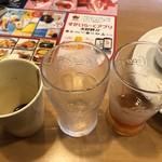 ガスト - 2019/06/09       山盛ポテトフライ 215円       ドリンクバー 107円