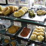 かがわ軒 - 天ぷら類