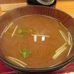 天寿ゞ - 味噌汁