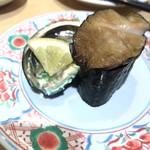 まわる寿司 博多魚がし - 一口アワビ¥370(税抜)