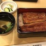 Miyagawahonten - うな重「は」(1尾)、肝吸い