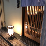 鮨かみやま - 入口