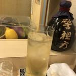鮨かみやま - 山崎ハイボール