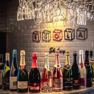 世界のワインが100種飲み放題◎時間は無制限でOK