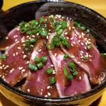 和食バル KO-IKI - ガッツリ〆るローストビーフ丼(1290円)