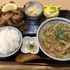 本場さぬきうどん なか川 - 料理写真:なか川名物  からあげ定食  900円(税込)