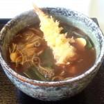 十割蕎麦 安曇野 - 天ぷらカレーそば