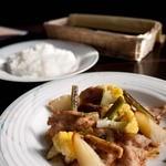 ラ・ボエーム - 料理写真: ラ・ボエーム 日替わりランチ 豚しょうが焼き