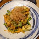 てぃだ - ニガウリの豆腐炒め