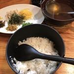 鳥しん - 料理写真:鶏飯 1,000円