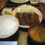 よし野 - 料理写真:ヒレカツ