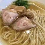麺創なな家 - 新・山六そば(塩)¥850(税込)