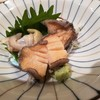かまた寿司 - 料理写真:コリコリ鮑刺身