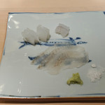 すし処 めくみ - 能登島カレー、アオリイカ、げそ