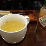 東山珈琲館 - セットのスープ