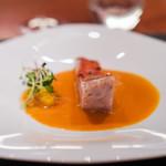 スリオラ - 金目鯛の炭焼き レモングラス香るスッケ