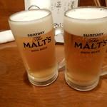 ぎょぎょうま屋 - ビール