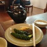 Sanjiro - 漬物とそば湯