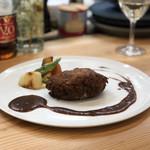 kitchen俊貴 - 黒毛和牛100%ハンバーグステーキ