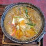 かとう - 料理写真:味噌煮込みうどん
