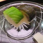 味 ふくしま - お漬物をお寿司で