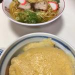 109354817 - 中華そばとカツ丼(2019.06.現在)