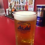 めん処マサムネ屋  - 昼ビール