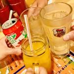 大阪カオマンガイカフェ - 乾杯〜〜♪