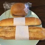 ポワンタージュ - ミルクフランスとあんバター
