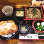 いづも庵 - カツ丼定食
