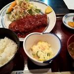 竹やぶ - 料理写真:丁寧に作られた、とんかつ定食!