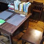 ワトト - 利用したテーブル席